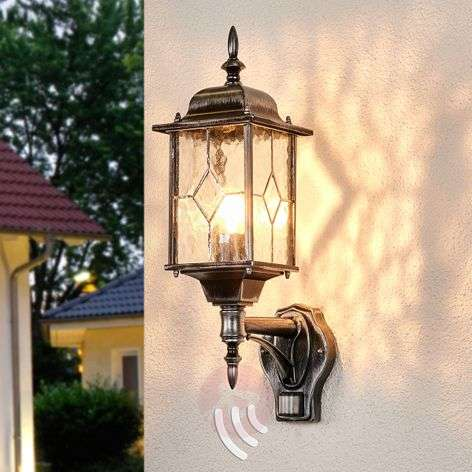 Wexford WX1 outdoor wall light with sensor