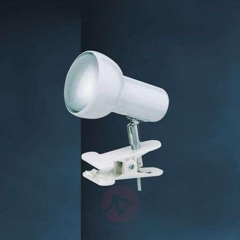 White clip-on light EIFEL