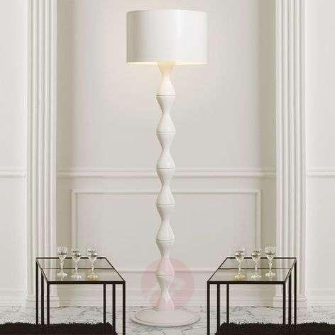 White designer floor lamp Sara