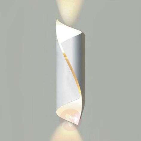 White designer LED wall light Hué