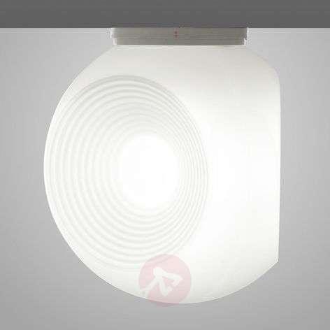 White Eyes glass ceiling light