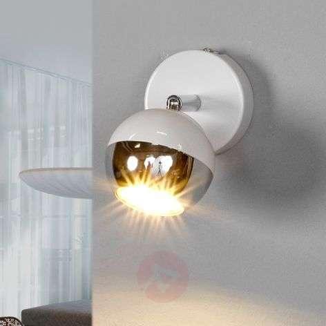 White GU10 spotlight Arvin with LED lamp
