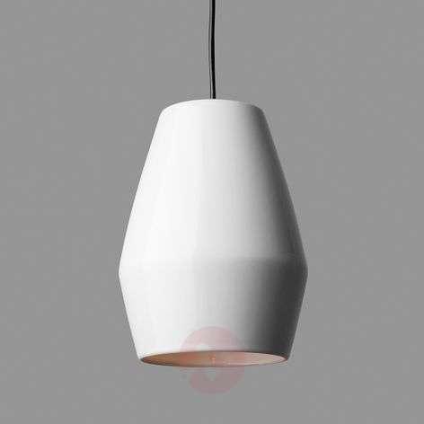 White hanging light Bell