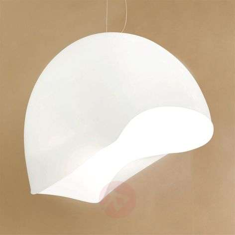White hanging light NINFEA