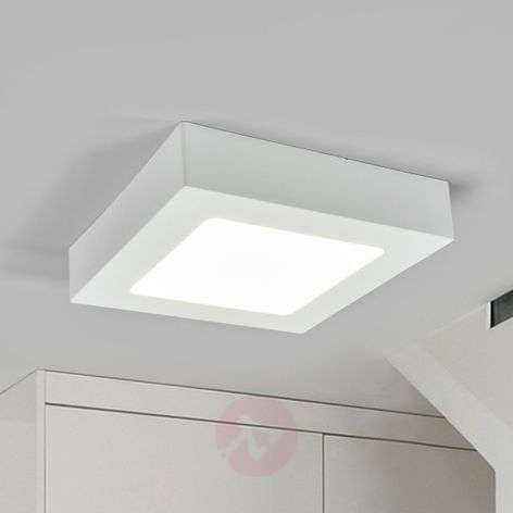 White LED bathroom ceiling light Marlo, IP44