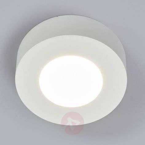 White LED bathroom ceiling light Marlo, round