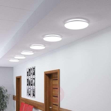 White LED ceiling light Jon, 4,000 kelvins