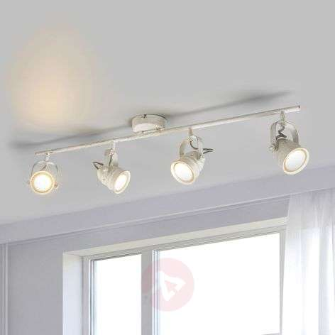 White LED ceiling light Leonor, GU10