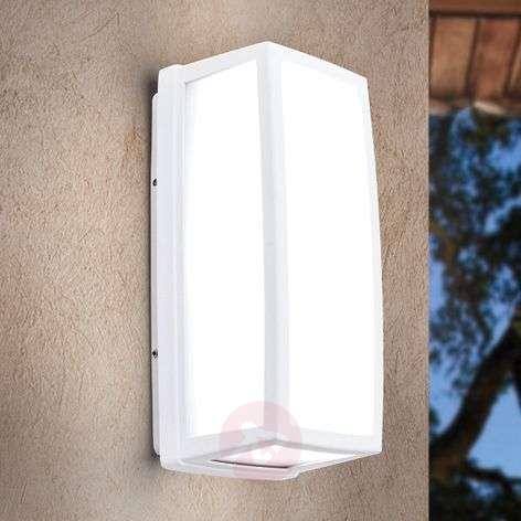 White LED outdoor wall light Bob, aluminium, IP54