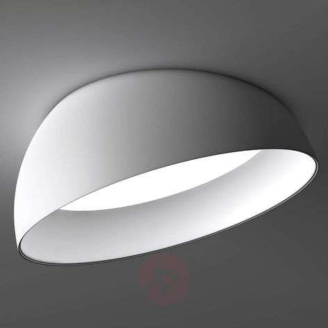 White LED recessed ceiling lamp Superdome