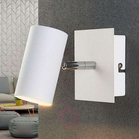 White LED spotlight Iluk for the wall and ceiling