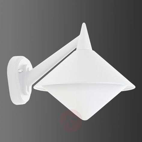 White outdoor wall lamp Liara - seawater resistant