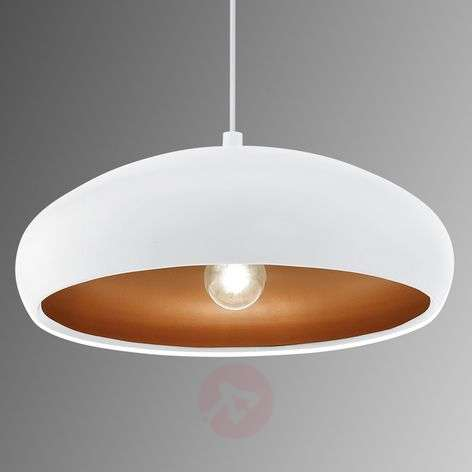 White pendant light Mogano