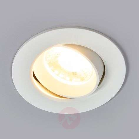 White Quentin LED recessed light