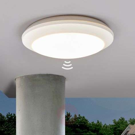 White sensor ceiling light Umberta 11W 3,000K