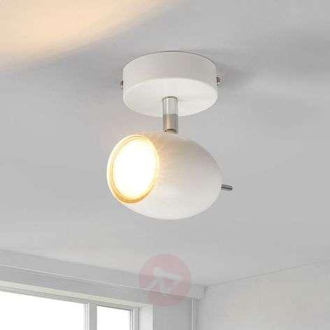 White spotlight Philippa with GU10 LED