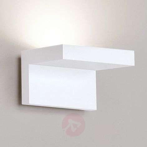White Step LED wall light