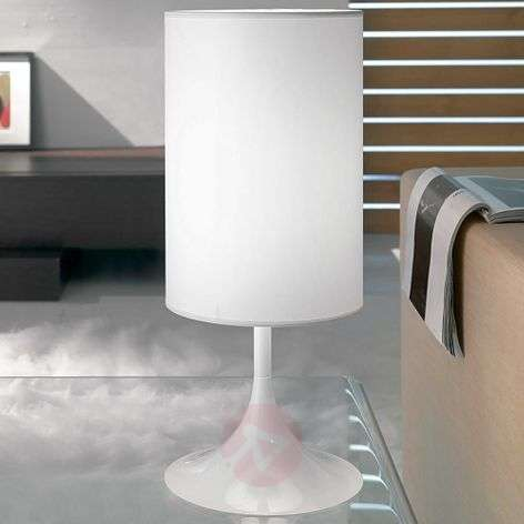 White table lamp Flute, 55 cm