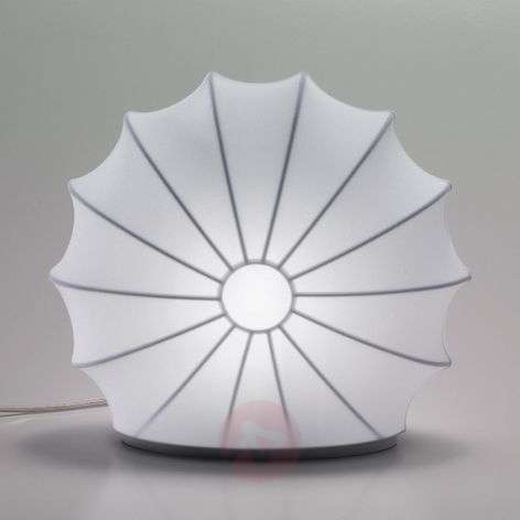 White textile light Muse, 33 cm