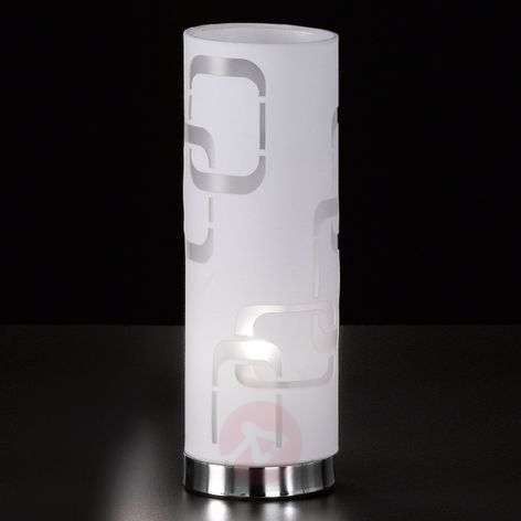 White textile table lamp Seventies-4580932-31