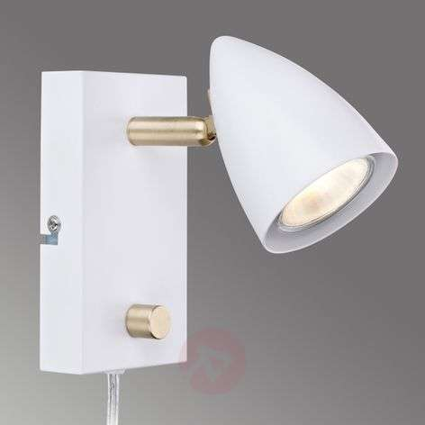 White wall spotlight Ciro