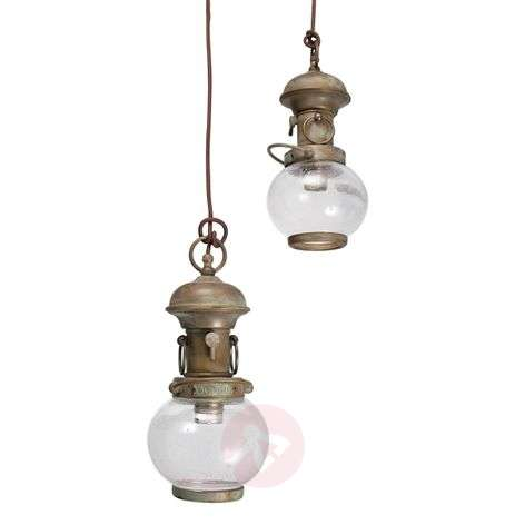 Wind 2 - hanging light in a maritime look