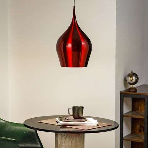 Wine red Vibrant hanging light