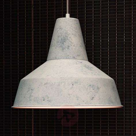With a broad lampshade - Berenice hanging light