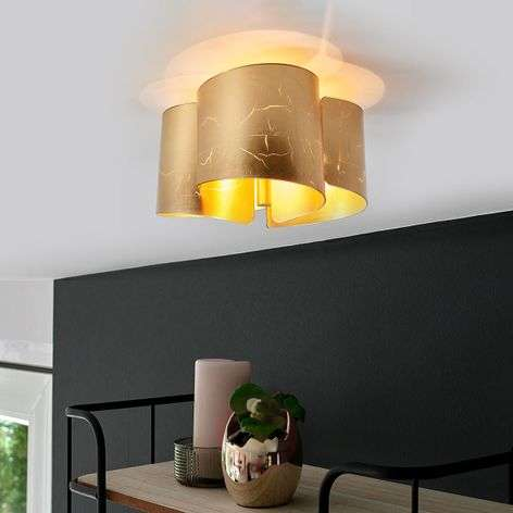 With a gold finish - unusual ceiling lamp Imagine