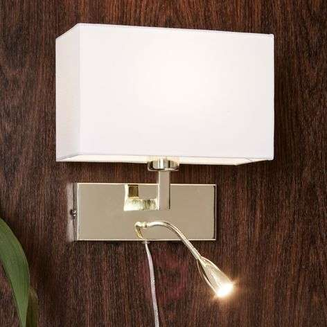 With an LED reading lamp wall light Savoy-6505604-31