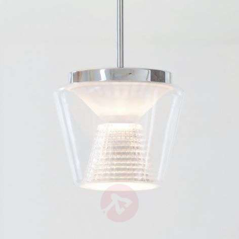 With crystal glass - LED pendant light Annex