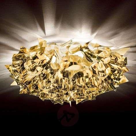 With golden sheen - Veli Large ceiling light78 cm