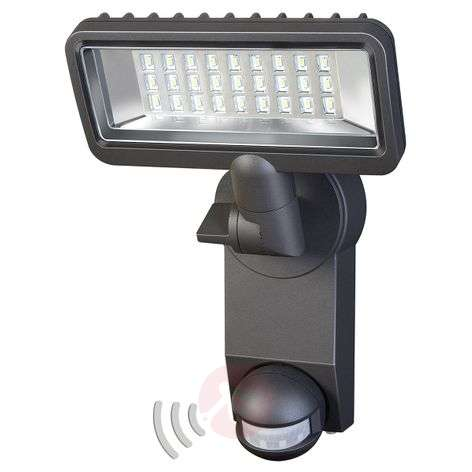 With motion detector - City LED outdoor spotlight