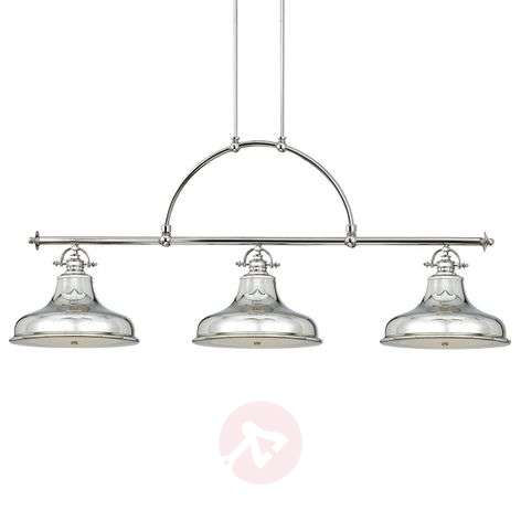 With three lampshades - hanging light Emery