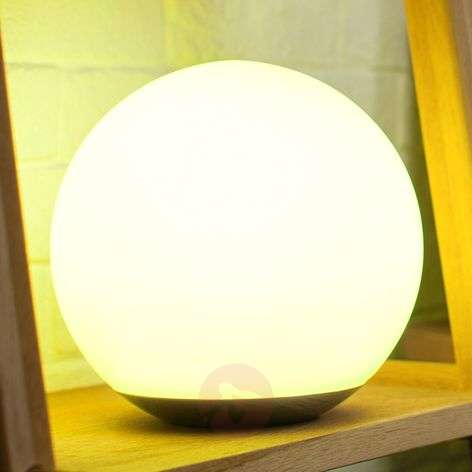 WiZ technology - LED table lamp Spirit, glass