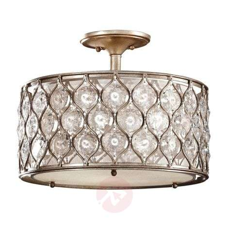 Wonderful semi-flush ceiling light Lucia