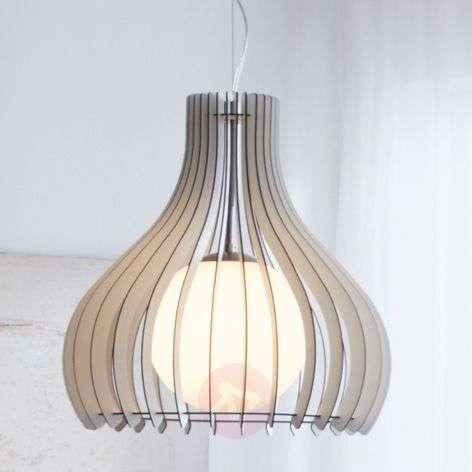 Wonderful Tindori hanging lamp, made of wood-3031821-32