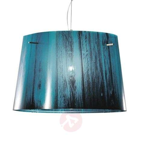 Woody - hanging light with gradient design