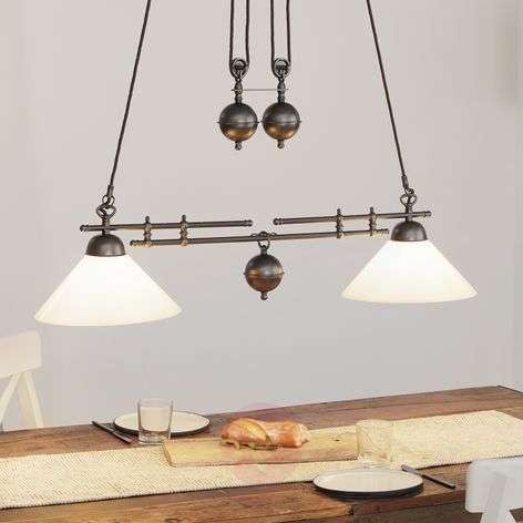 YEAR 1900 height adjustable hanging light