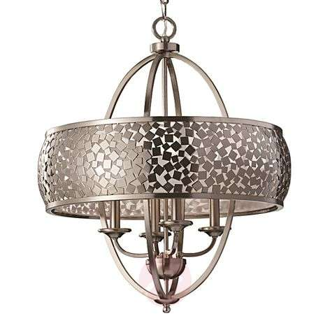 Zaria Hanging Light Metal Extravagant