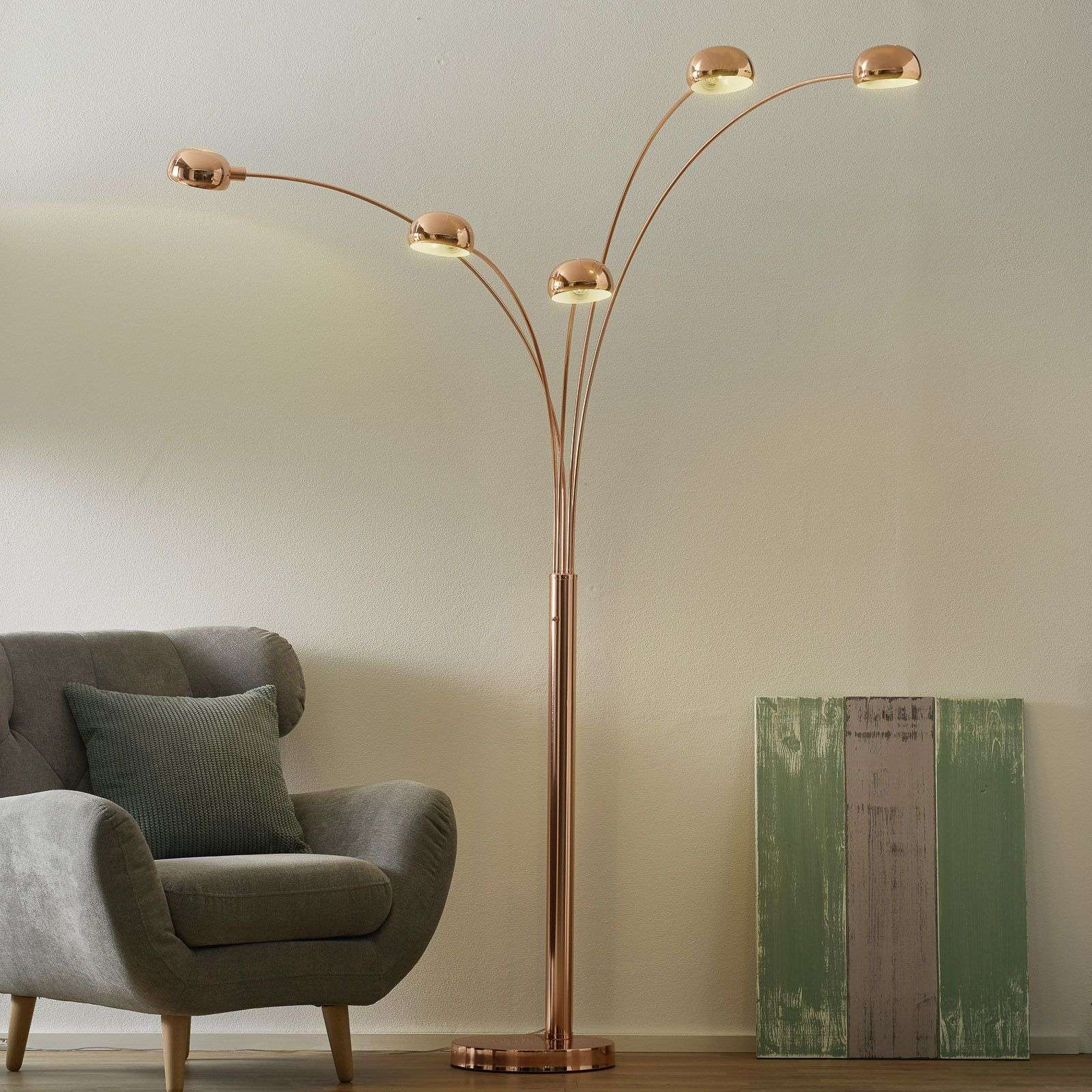 5 bulb pelin floor lamp copper coloured shades lights 5 bulb pelin floor lamp copper coloured shades 4014705 31 aloadofball Choice Image