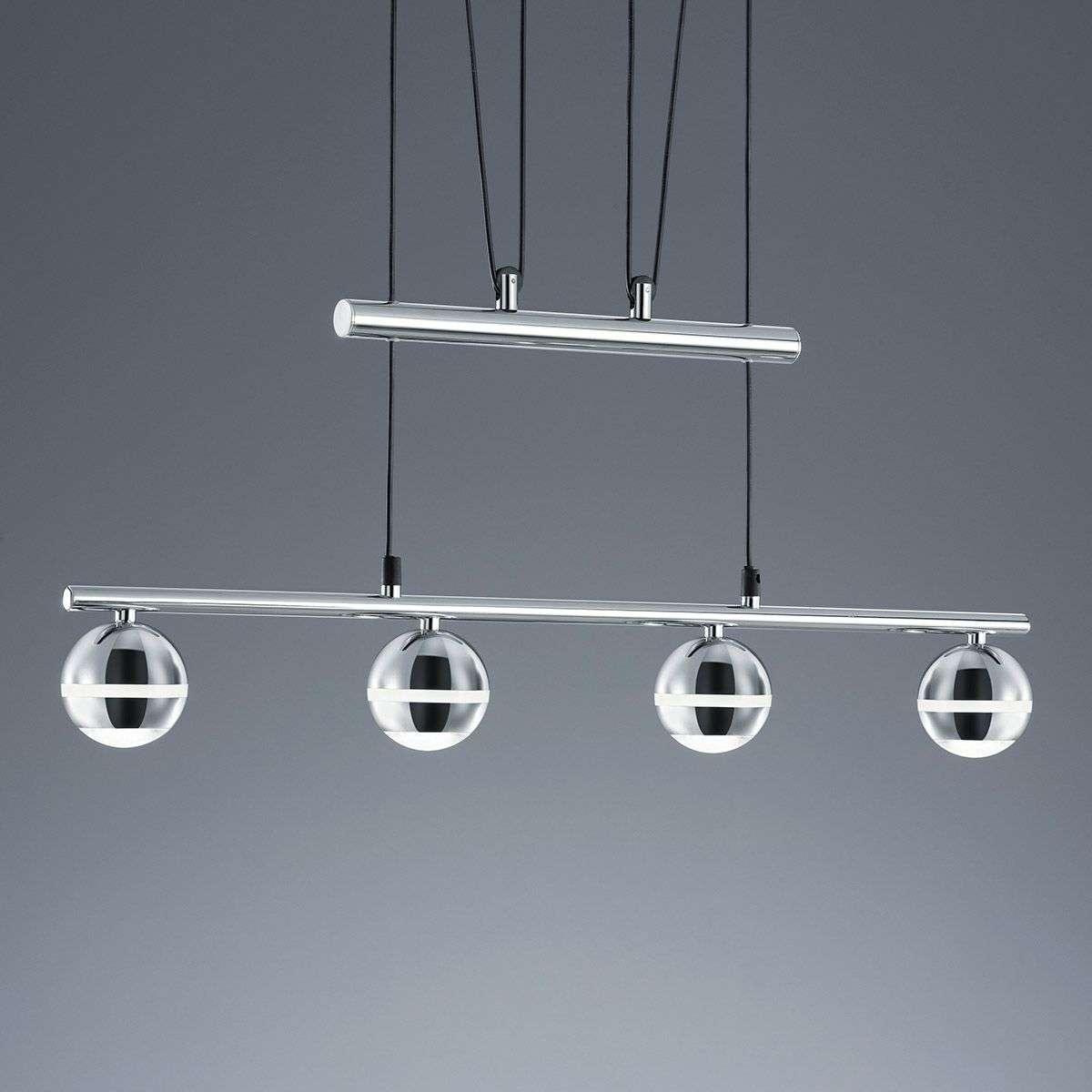 Ada LED pendant light height-adjustable 4 bulbs-9004579-31 & Ada LED pendant light height-adjustable 4 bulbs | Lights.ie