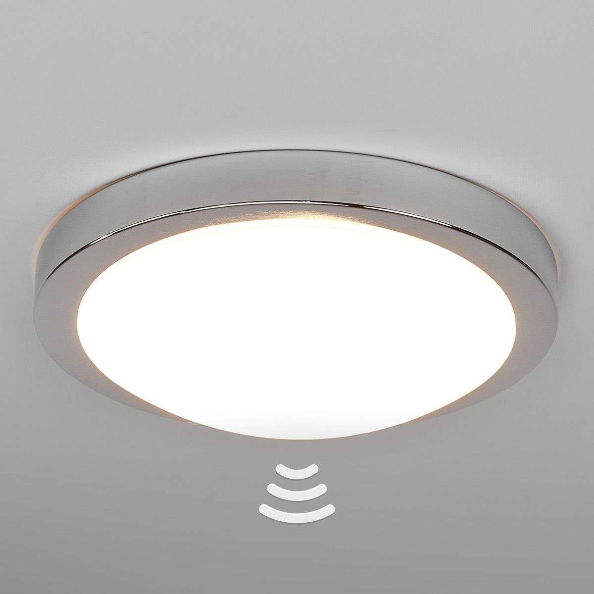 Aras led bathroom ceiling lamp sensor chrome lights aras led bathroom ceiling lamp sensor chrome aloadofball Choice Image