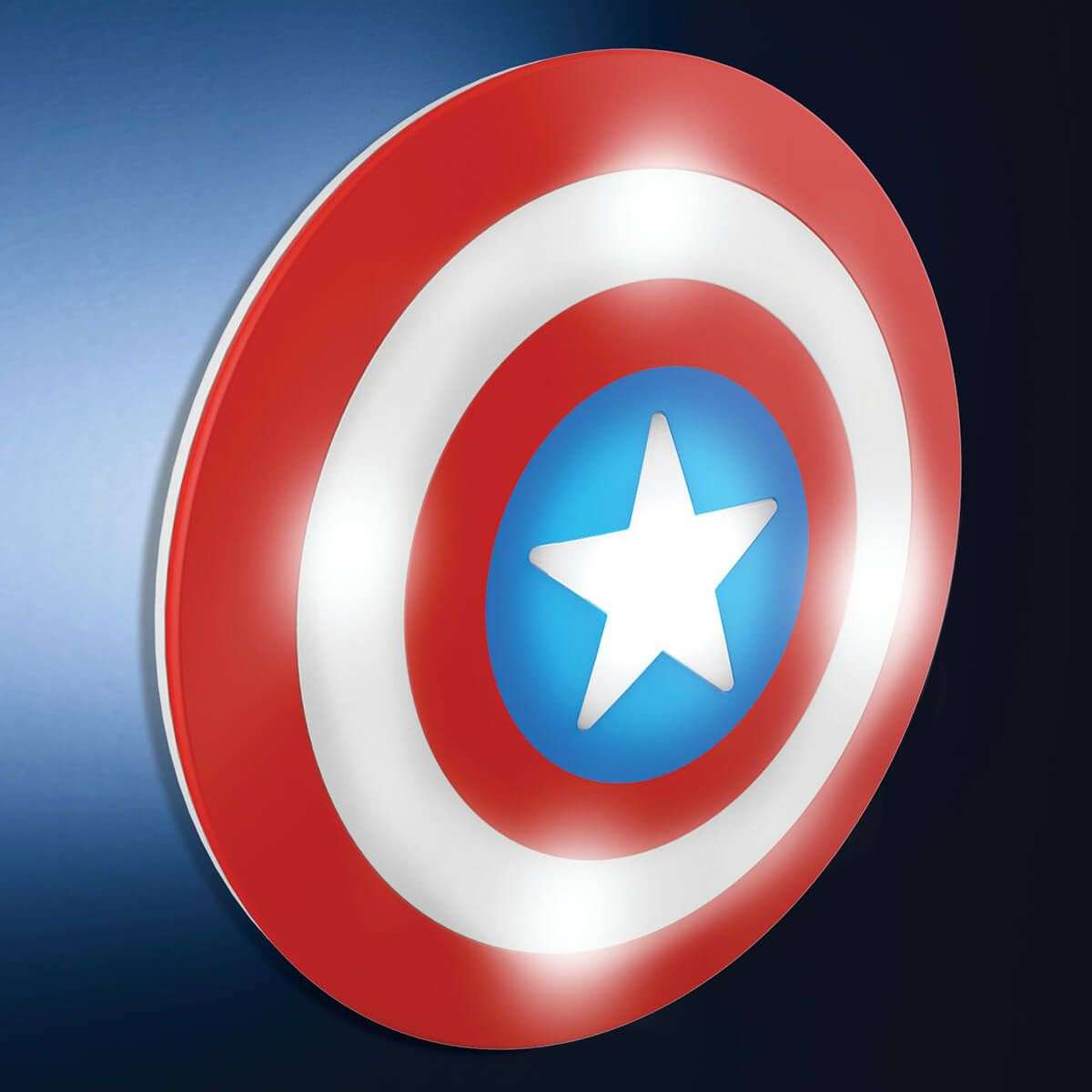 Charming Battery Powered Wall Lamp Captain America 7534008 31
