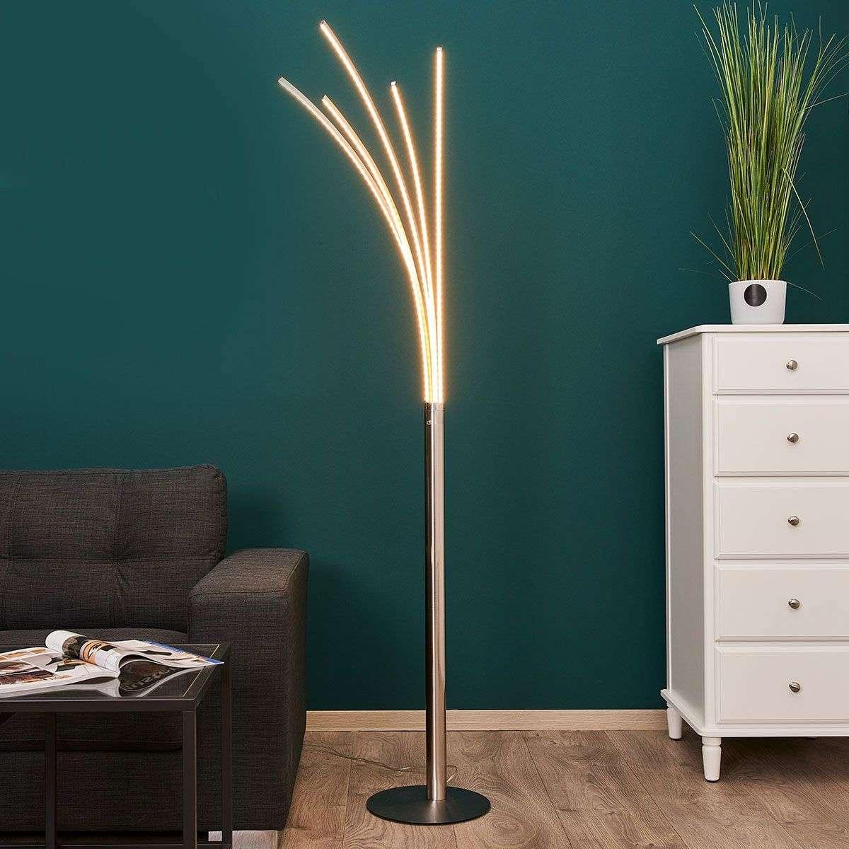boba multi arm led floor lamp. Black Bedroom Furniture Sets. Home Design Ideas