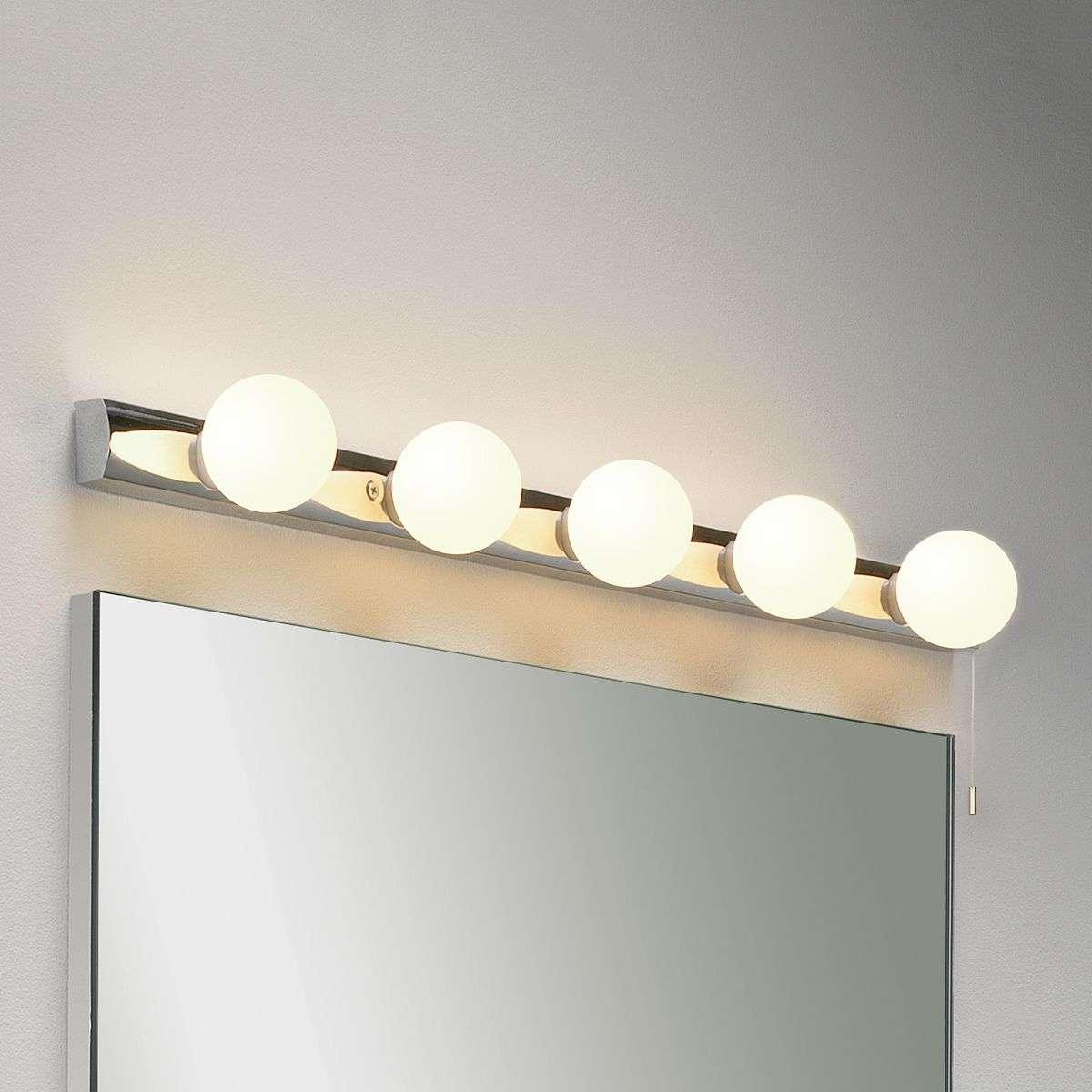 Cabaret 5 Mirror Wall Light Classic-1020371-31