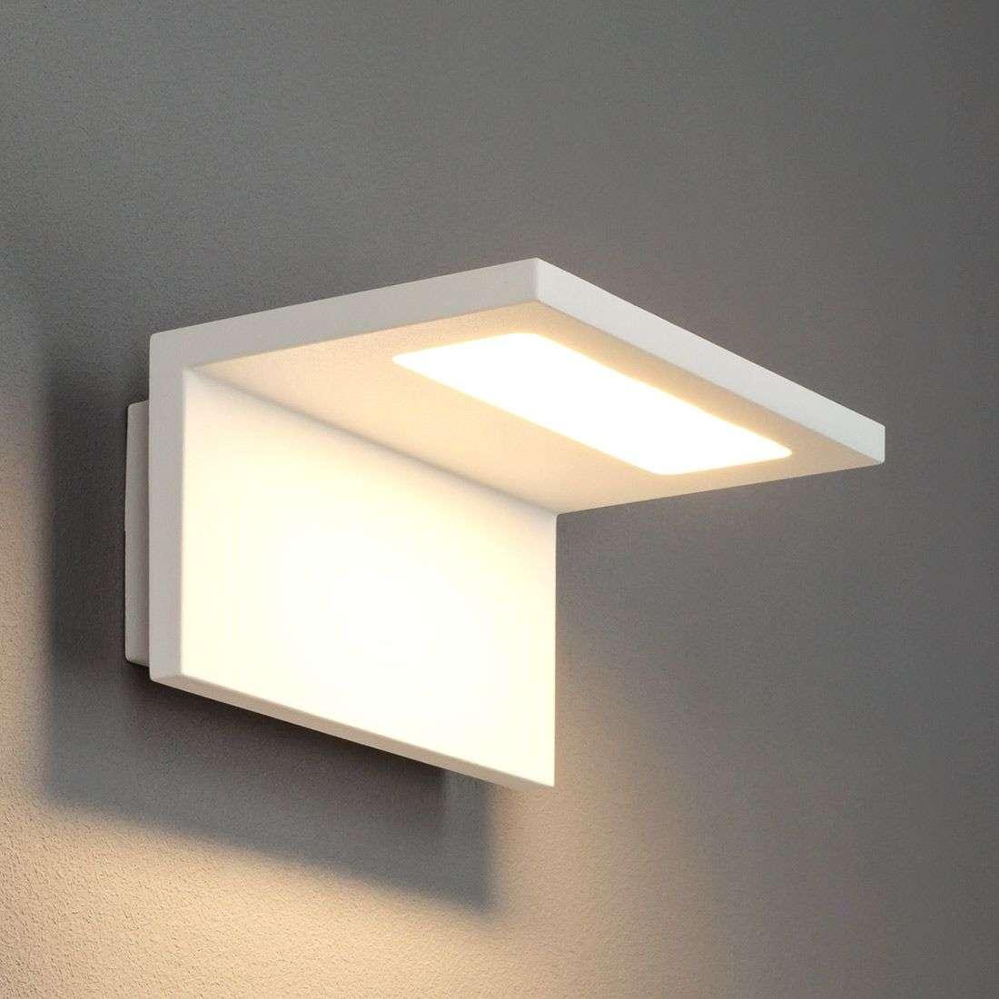 Caner white led exterior wall lamp lights caner white led exterior wall lamp 9619022 31 aloadofball Image collections