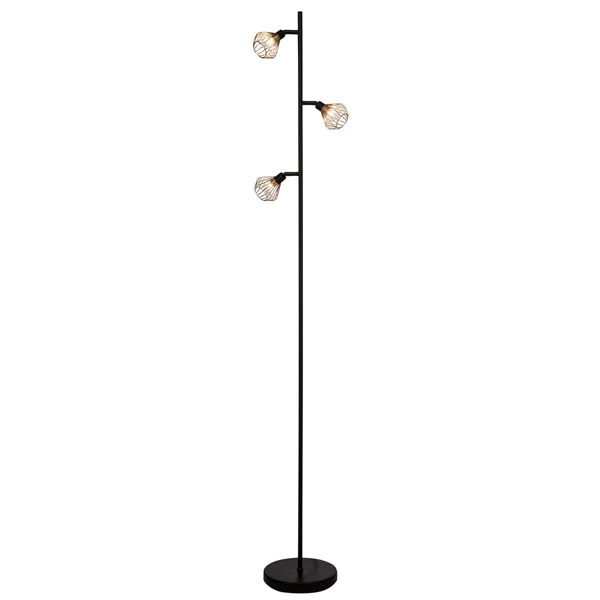 Dalma a floor lamp with 3 wire lampshades lights dalma a floor lamp with 3 wire lampshades 1509153 31 arubaitofo Choice Image