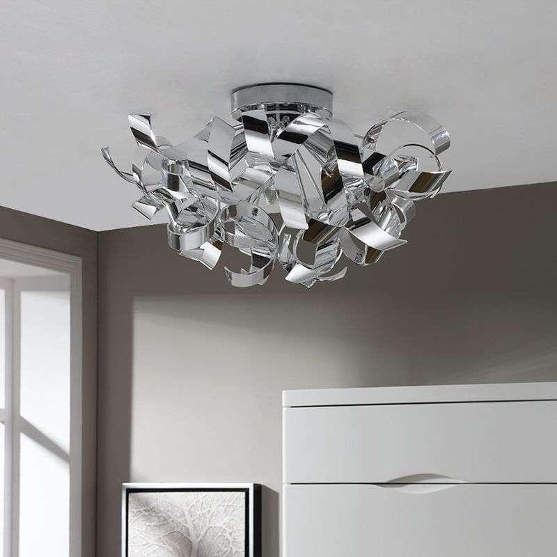 Decorative chrome ceiling lamp elviro lights decorative chrome ceiling lamp elviro 9620663 39 mozeypictures Image collections