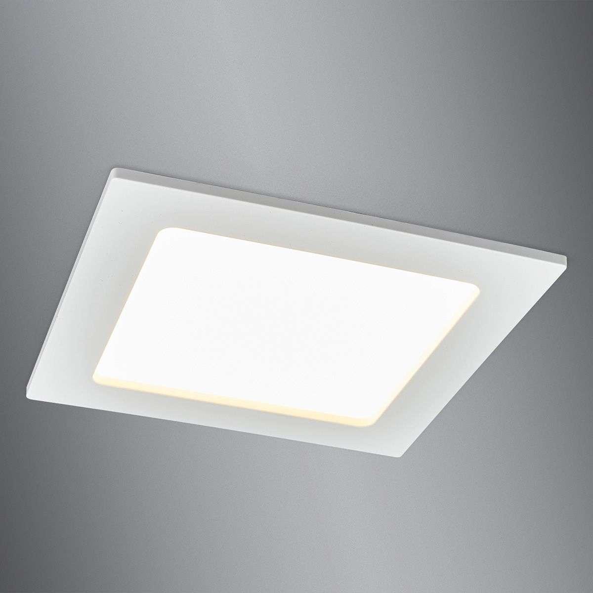 Discreet LED recessed spotlight Feva, 10.5 W   Lights.ie